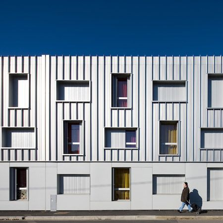 Student housing architecture | Dezeen | Photographer Stéphane Chalmeau has sent us his photos of student accommodation in Bordeaux designed by French studio Lanoire & Courrian