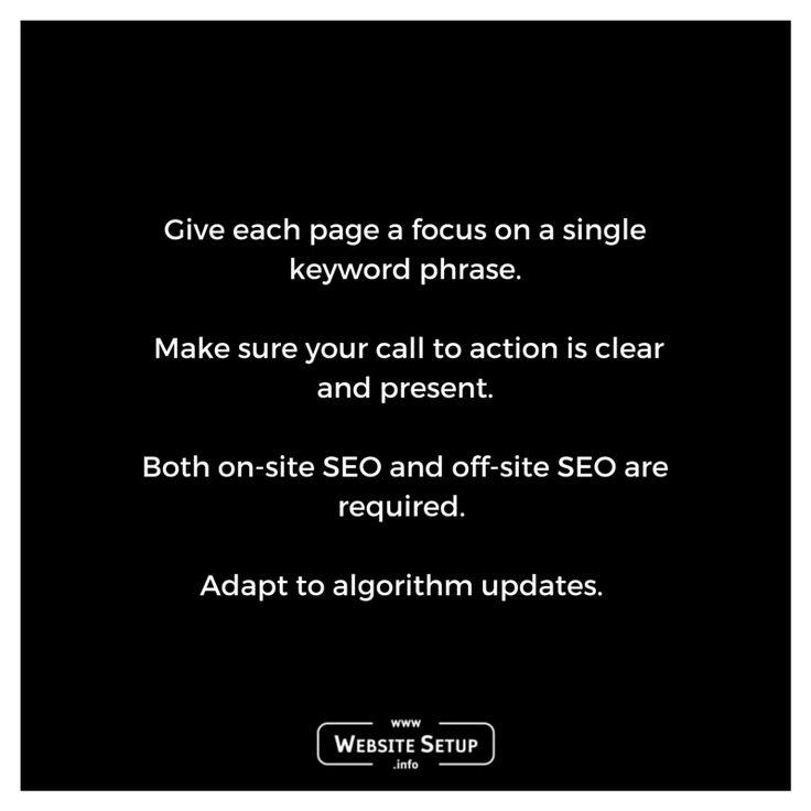 SEO Tips