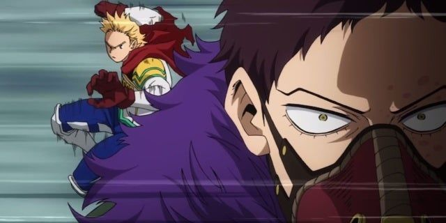 Watch My Hero Academia Season Four Go Plus Extremely With Intense Lemillion Vs Overhaul Battl My Hero Academia Hero Anime Fandom Xd my bestie gave the idea of him being a penguin, so i looked at the types of penguins and found some to work with. watch my hero academia season four go