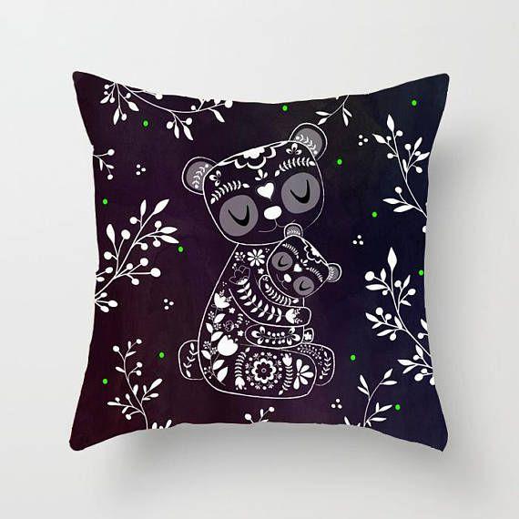 Cute Bear Pillow Toddler Gift Toddler Pillow Toddler Throw