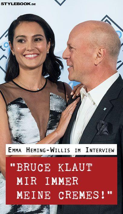 Wie ist es, die Ehefrau von Superstar Bruce Willis (62) zu sein? STYLEBOOK.de traf Emma Heming-Willis (39) auf der Marketing-Messe Dmexco in Köln und fragte nach!