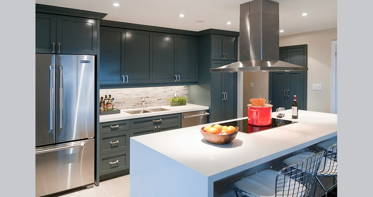 Fia Interiors designed this open concept kitchen for a foodie! Check out more pictures at www.fiainteriors.com