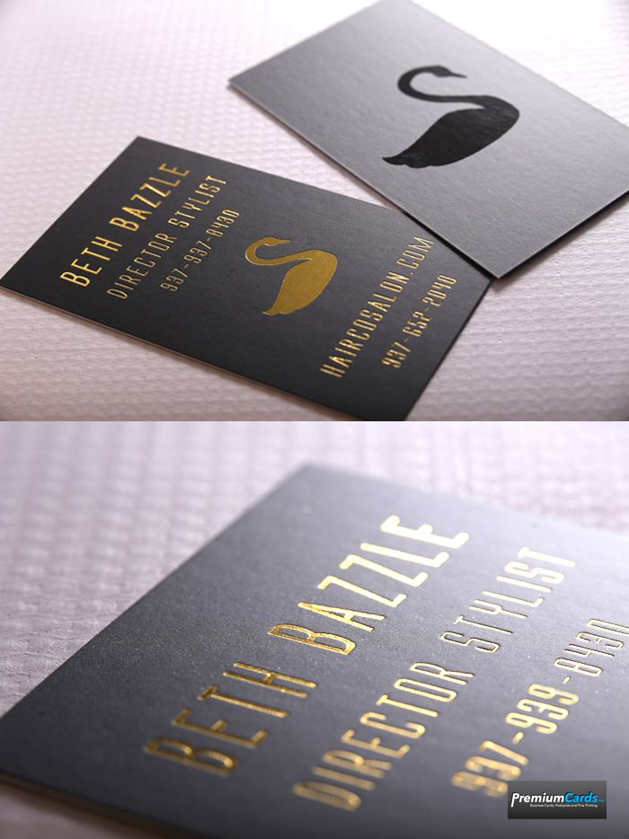 Silk Business Cards with Spot UV with Gold Foil make a dramatic impression on the receiver of these incredible cards.  Get your own for under 200 bucks for 500 cards.  http://www.premiumcards.net/business_card_printing/product_info.php/500-silk-and-foil-business-cards-p-447