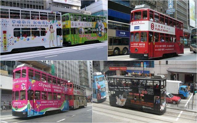 Новости: Необычный общественный транспорт: двухэтажные трам...