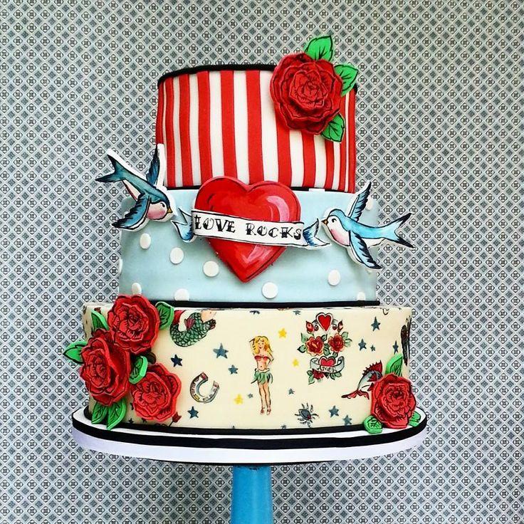 Love Rocks Cake Art