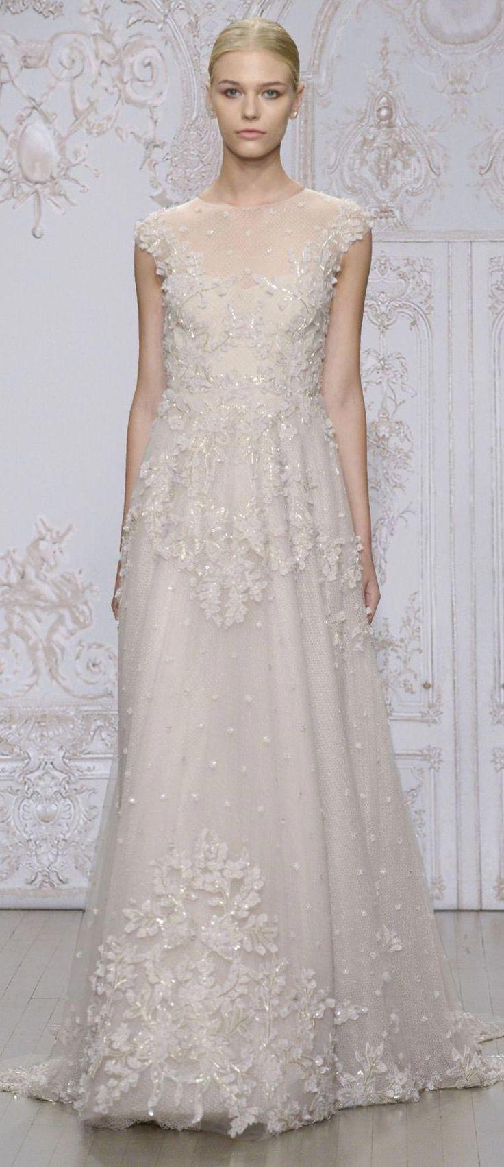 Les 15 meilleures images du tableau monique lhuillier for Monique lhuillier robes de mariage