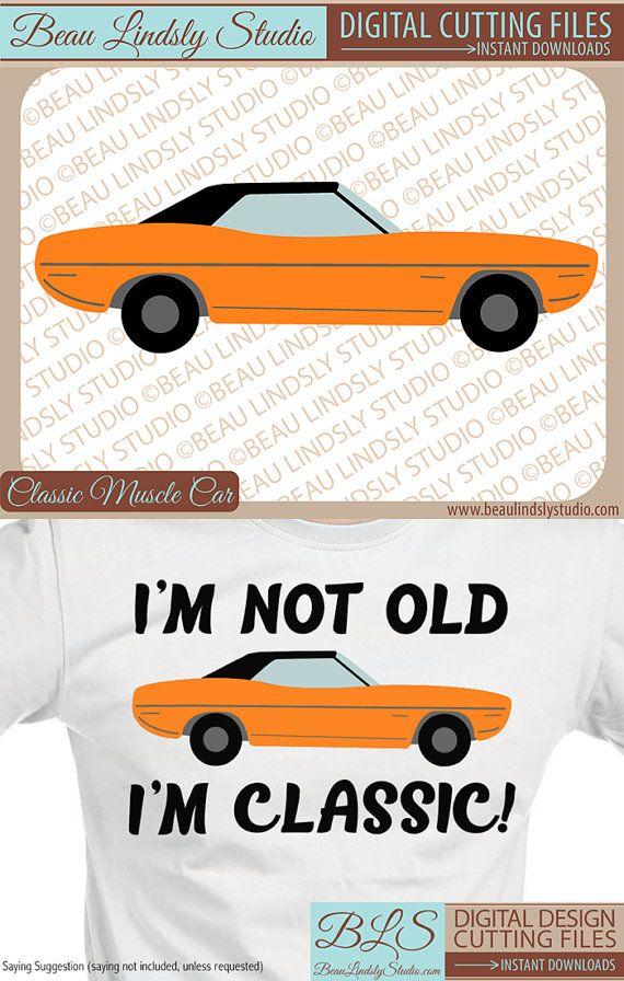 Car Svg Cutting File Classic Car Clip Art Svg File Svg Format
