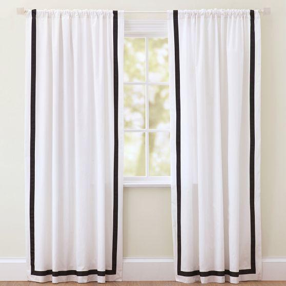 Best 25+ Black White Curtains Ideas On Pinterest