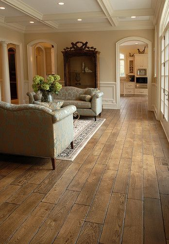 """Tuscany™ Collection 6-3/4"""" (17 cm) wide, Vintage French Oak hardwood floor, smooth face, hand... more »  $20.00 