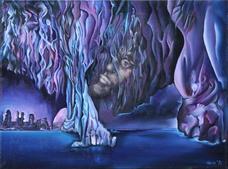 River Styx Size: 60 x 80 cm, oil on canvas