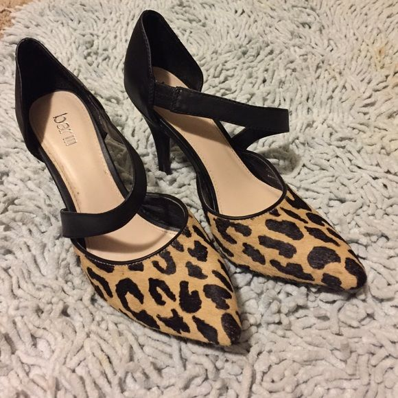 SALECheetah Heels •great condition •will make your outfit stand out •comfortable  Shoes