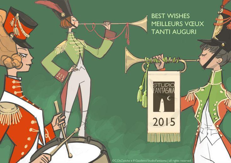 best wishes 2015 by studiofantasma.com