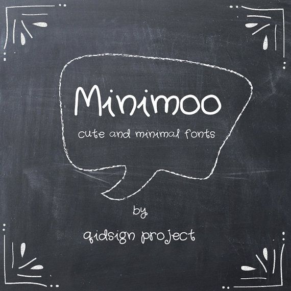Hey, I found this really awesome Etsy listing at https://www.etsy.com/listing/256875047/minimoo-hand-writing-digital-font-hand