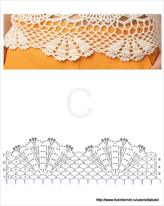 Crochetpedia: Crochet Women's Wear Feminine Top