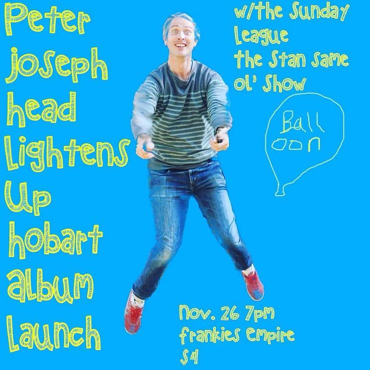 Anyone in Hobart this weekend? This will be better than MONA. #hobartmusic #melbournemusic #touring #frankiesempire #thestanshow #thesundayleague