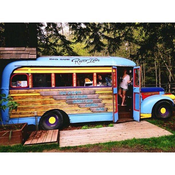 Grateful Dead Tour Bus