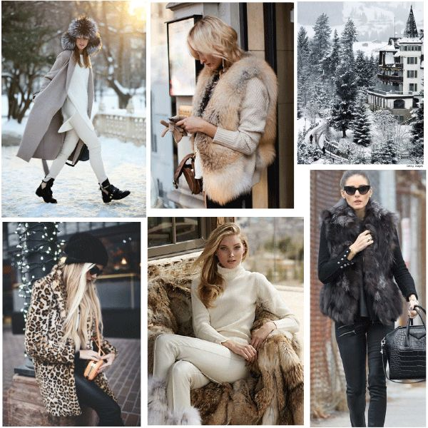 Inspiration - Apres Ski Chic. Aspen. Vail. Gstaad. www.refined-fashion.com/blog