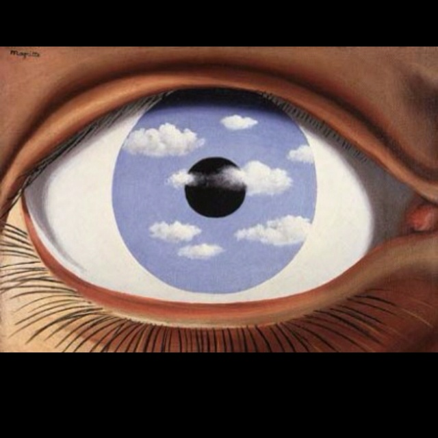 33 best images about magritte paintings on pinterest the for Rene magritte le faux miroir