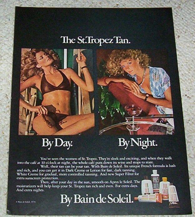 137 best suntans images on pinterest print ads print. Black Bedroom Furniture Sets. Home Design Ideas