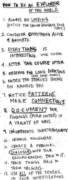 How to Explore