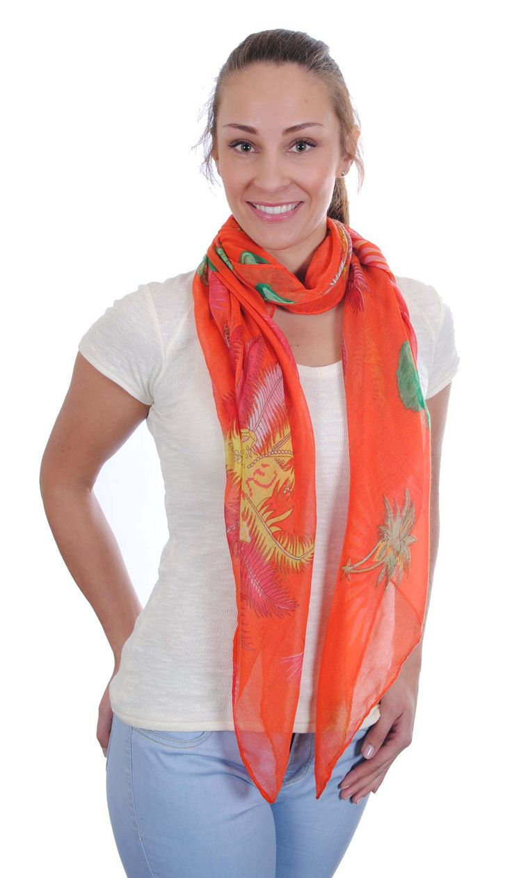 Amber-3 ass colours-Scarf, large rectangular, light weight woven with leaf design on single colour ground design-180 x 80-100% Viscose