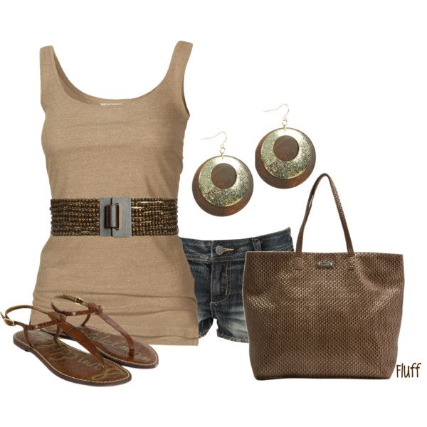wooden nickle, created by fluffof5 on Polyvore