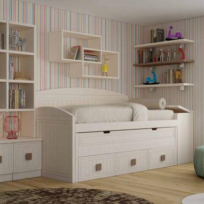 Mejores 14 im genes de cama compacta con cama desplazable - Cama compacta infantil ...