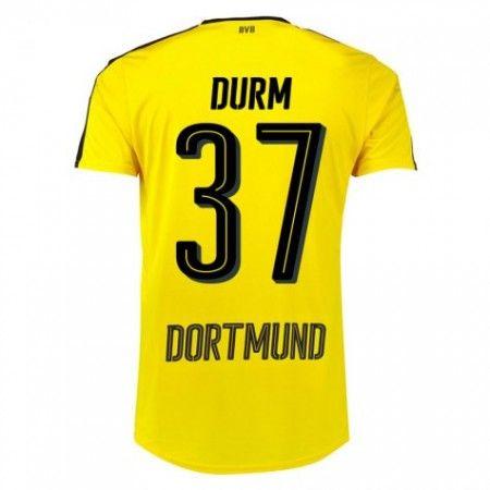 BVB Borussia Dortmund 16-17 Erik Durm 37 Hjemmedrakt Kortermet.  http://www.fotballpanett.com/bvb-borussland-dortmund-16-17-erik-durm-37-hjemmedrakt-kortermet.  #fotballdrakter