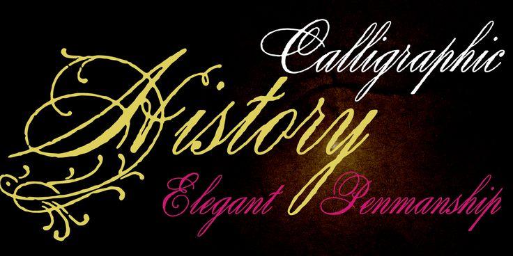 Antique Spenserian Font Preview