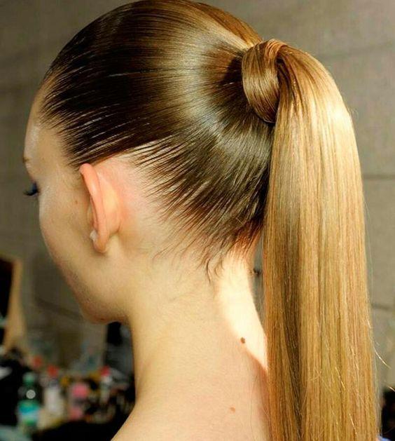 cortes de pelo de cola de caballo elegante 7