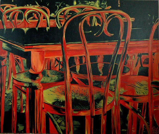Владимир Дудкин— Красные стулья