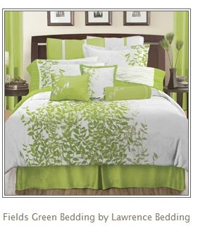 Lime Green color scheme!  I always thought I would want brown and tan with green accents; however, lime green with brown accents would be nice.