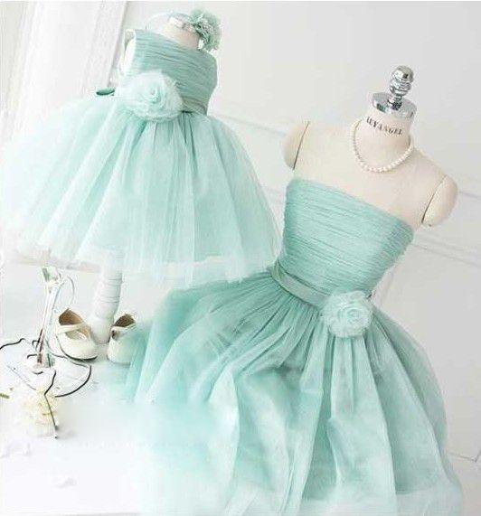 弓ガールドレス2016かわいいボールガウンノースリーブ夏フラワーガールのドレスパーティードレス緑紫赤