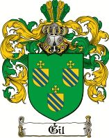Gil Coat of Arms / Gil Family Crest