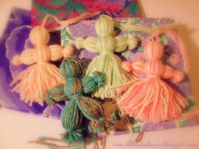 Bamboline di Lana avvolta – Tutorial | Il Libro di Ahania