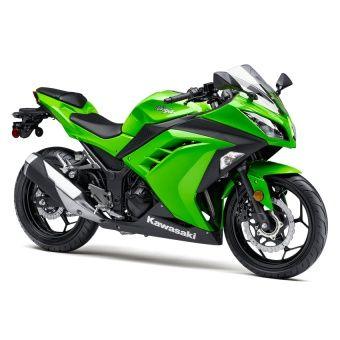 Xe tay côn Kawasaki Ninja 300cc Xanh và Đen 2016