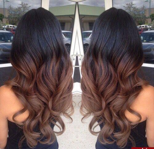 Miraculous 1000 Ideas About Black Hair Ombre On Pinterest New Hair Kinky Short Hairstyles Gunalazisus