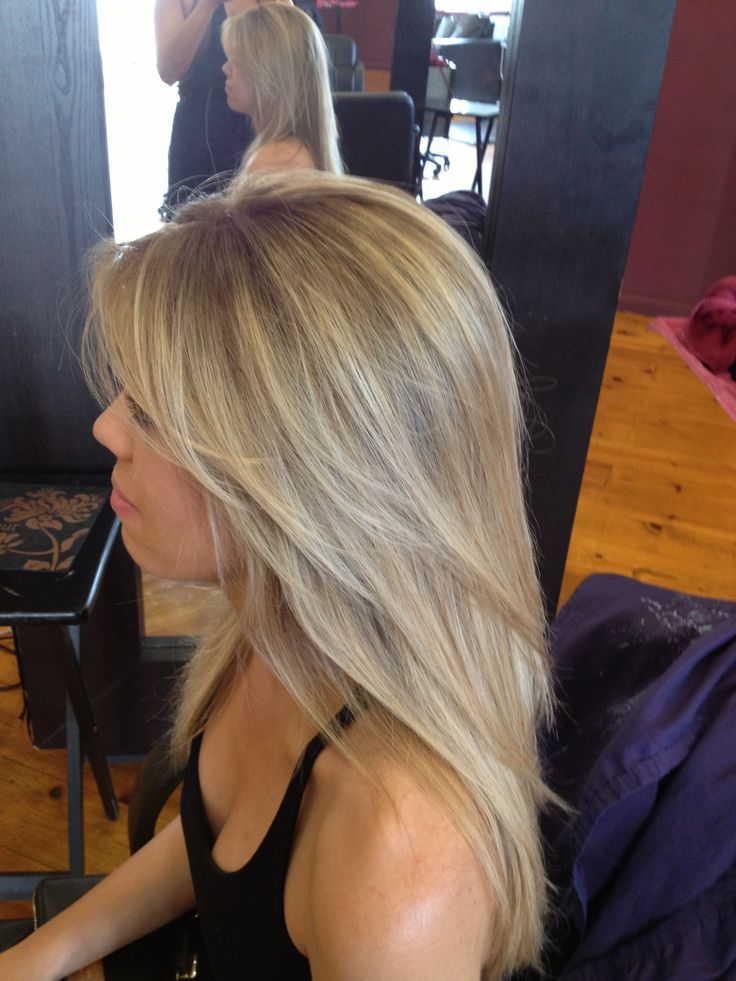 Haircut Women S Hairstyle Layers Blonde Blonde