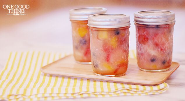 Whatever happened to fruit cocktail? I still see it on the shelves of the grocery store, and I still buy it when I make my Grandma's Fruit Salad at Thanksgiving and Christmas, but for the most part, you just don't see many people eating it anymore. At least from a can. It never occurred …