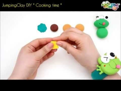 Jumping Clay Tutorial - The Cooking Frog - YouTube tutorial video from the DIY range http://www.youtube.com/watch?v=DteDU6vjBZA
