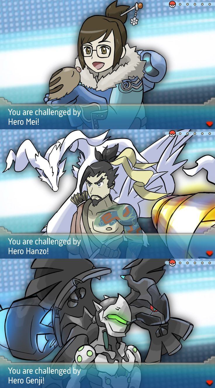 Overwatch and Pokemon 7 Omg the legendaries thing is so clever. Truth vs Ideals.