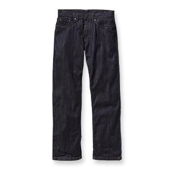 Patagonia Men's Regular Fit Jeans - Reg Classic 5-pocket denim jeans made of organic cotton with a zipper fly and belt loops; available in dyed-denim finishes.