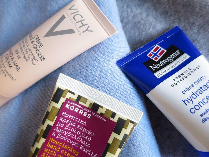 Vichy, Korres, Neutrogena : trois crèmes pour les mains au banc d'essai !