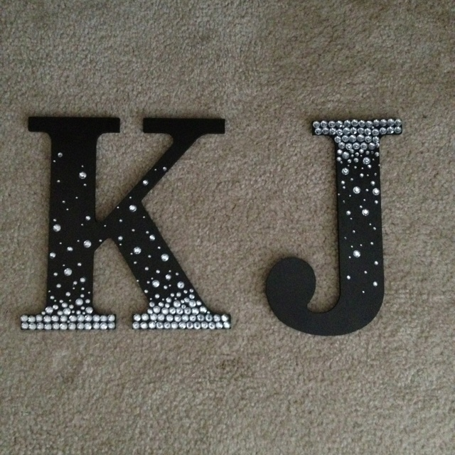 A wall hanging we made for Katherine's room!