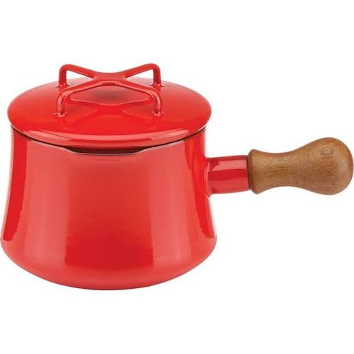 Google Express - Dansk Kobenstyle 1.0 qt Saucepan with Lid, Chili Red | Saucepans | 855130