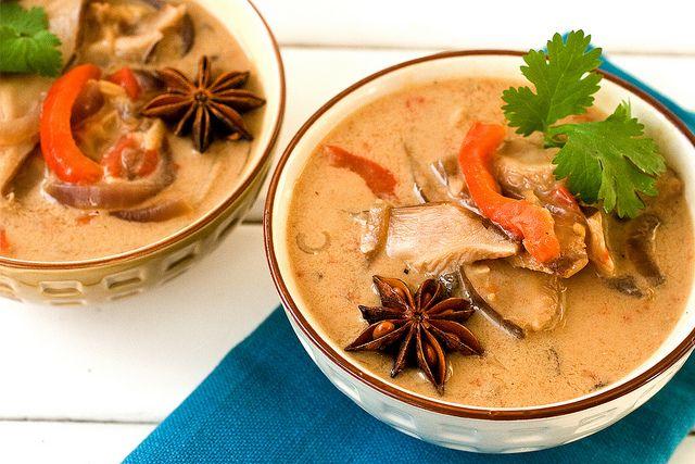 Mushroom hotpot