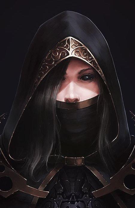 Lauvylia Darkmantle, the corrupted Sunlight Warrior