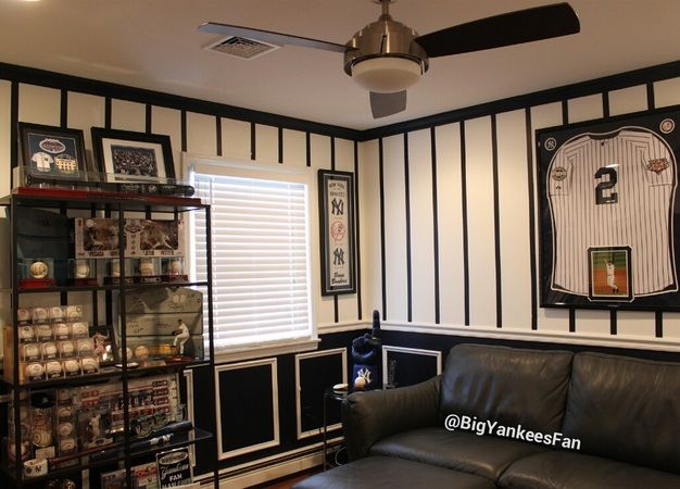 New Man Cave Ideas : Best images about yankees room ideas on pinterest
