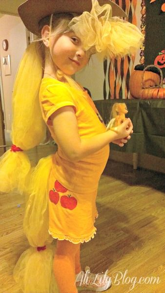 Easy DIY My Little Pony Applejack Costume - Valerie this is for you!!!!!