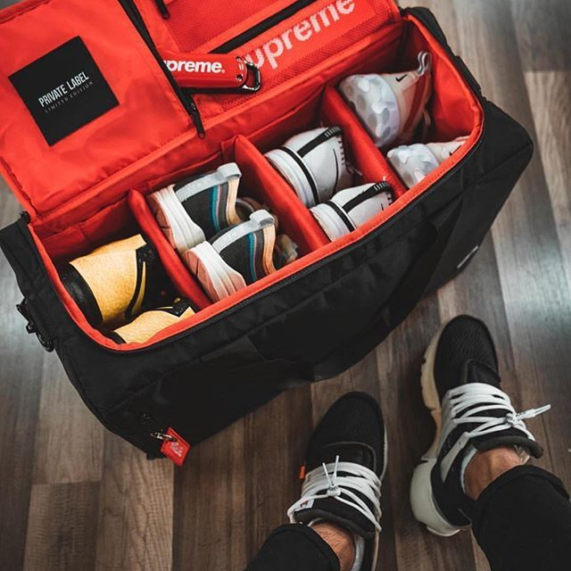 7e737c737ee7 The Official Bag For Sneakers, Sports & Travel 🛫 ▪️Our Adjustable ...